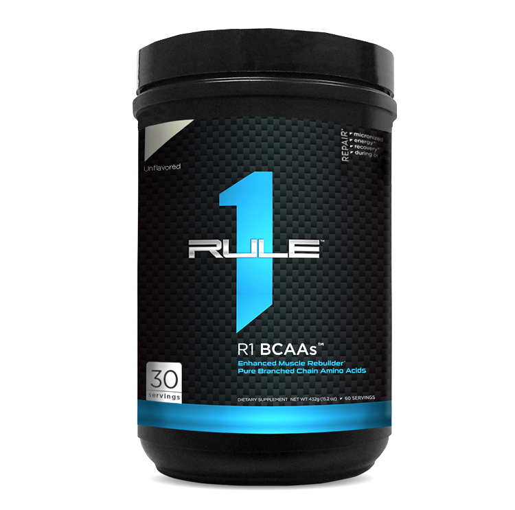 Rule 1 BCAA Unflavored™ | 22 порций (158 гр.)