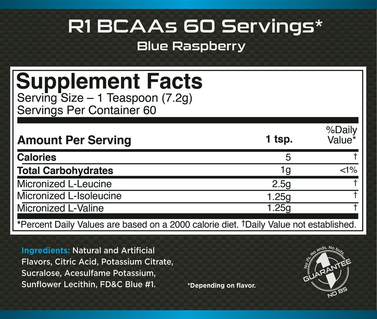 Rule 1 BCAA Flavored™ | 60 порций (432 гр.)